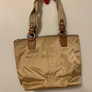 Coach Handbag with matching Frill wallet